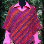Effortless Chic Poncho ~Free Crochet Pattern!