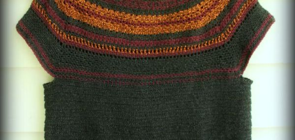 Week 4 2015 Crochet Along ~ The Sabrina Tunic