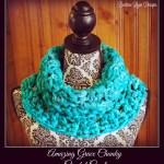 Amazing Grace Chunky Crochet Cowl!
