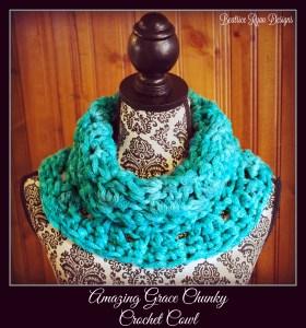 Amazing Grace Chunky Crochet Cowl