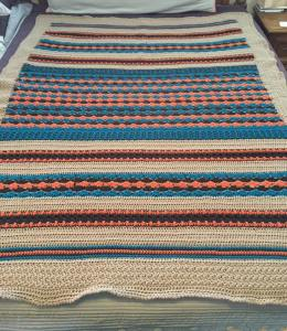 Completed Winter CAL blanket