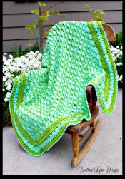 Frog Pond Baby Blanket... Free Crochet Pattern