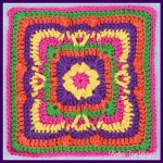 Festival of Fall Square… Free Crochet Pattern
