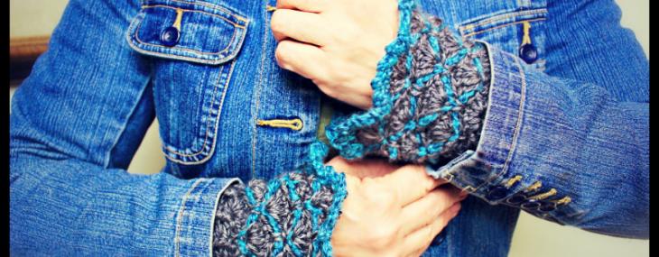 Steel Ridge Wristlet's… New Free Crochet Pattern!!