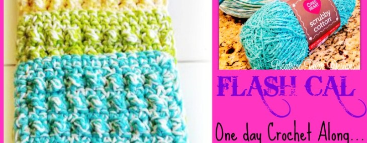 FLASH CAL… Today's Fun Crochet Along!!