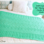 2018 Crochet with Me!! Mystery Afghan CAL… Week 6!!