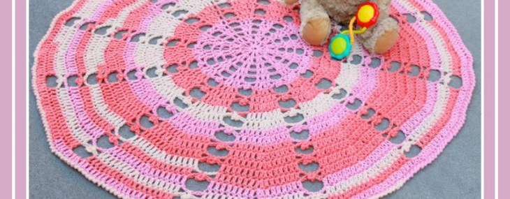 Sugar Wheel Baby Blanket Crochet Along… Week 1!!