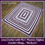 Crochet with Me!! Mystery Afghan Crochet Along… Week 10!!