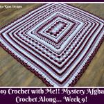 2019 Crochet with Me!! Mystery Afghan Crochet Along… Week 9!!!