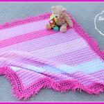Twirly Whirly Baby Blanket