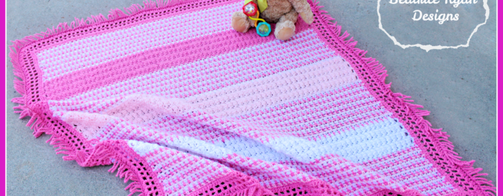 Twirly Whirly Baby Blanket