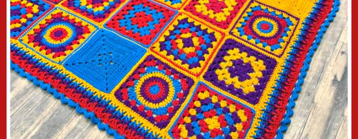 Whimsical Autumn Afghan… Mystery Crochet Along!  Week 10!!!