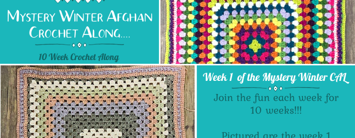2021 Crochet with Me!!! Mystery Winter Afghan CAL… Week 1!!!