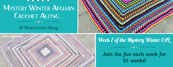 2021 Crochet with Me!!! Mystery Winter Afghan CAL… Week 7!