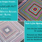 2021 Crochet with Me!!! Mystery Winter Afghan CAL… Week 6!!!