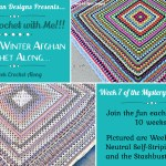 2021 Crochet with Me!!! Mystery Afghan CAL…Week 9!