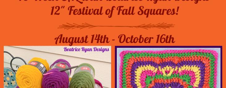 Festival of Fall Afghan Crochet Along… Week 1!!