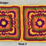 Festival of Fall Afghan Crochet Along… Week 4!!!