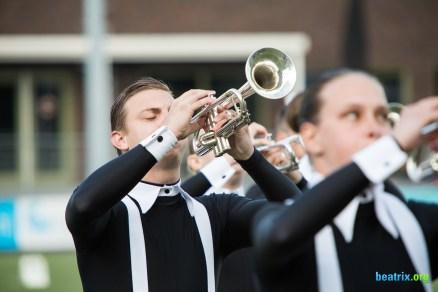 Beatrix (Hilversum, Netherlands) during their performance at the Dutch Music Games contest in Huizen, Netherlands
