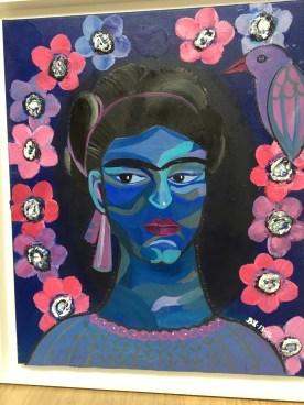 Frida in Blue (2013-2016) 60*70 cm