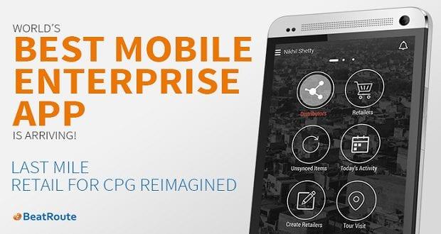 World's Best Enterprise Mobile App is arriving…