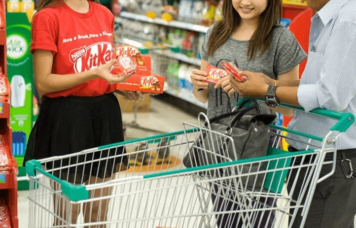 In-Store Product Promoters – Converters before Consumer Walks Out