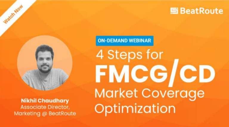 [On-Demand Webinar] 4 Steps for FMCG/CD Market Coverage Optimization