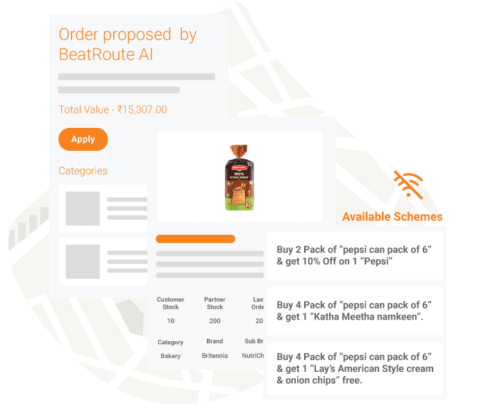 Sales force automation software AI-powered Order Taking App