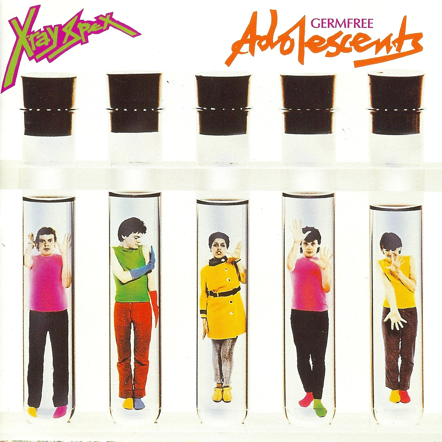 Image result for vinyl cover xray spex