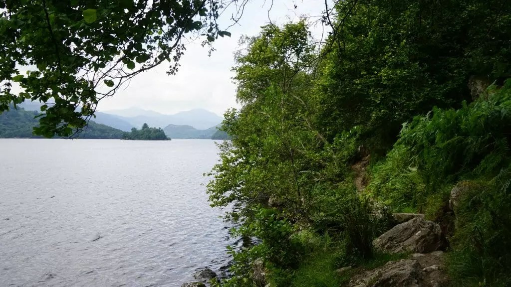 Loch Lomond west Highland way