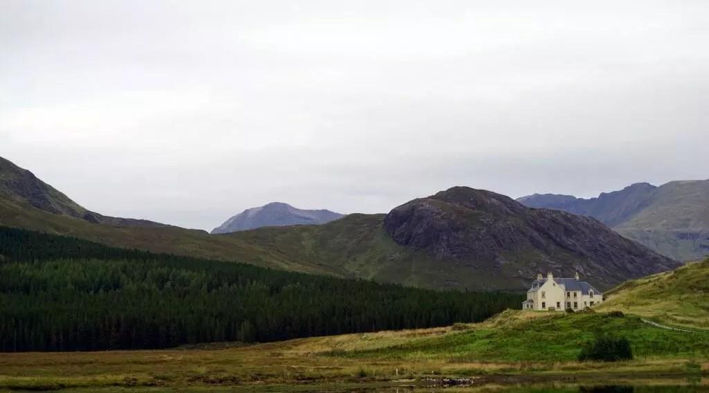 Scotland Benmore Lodge