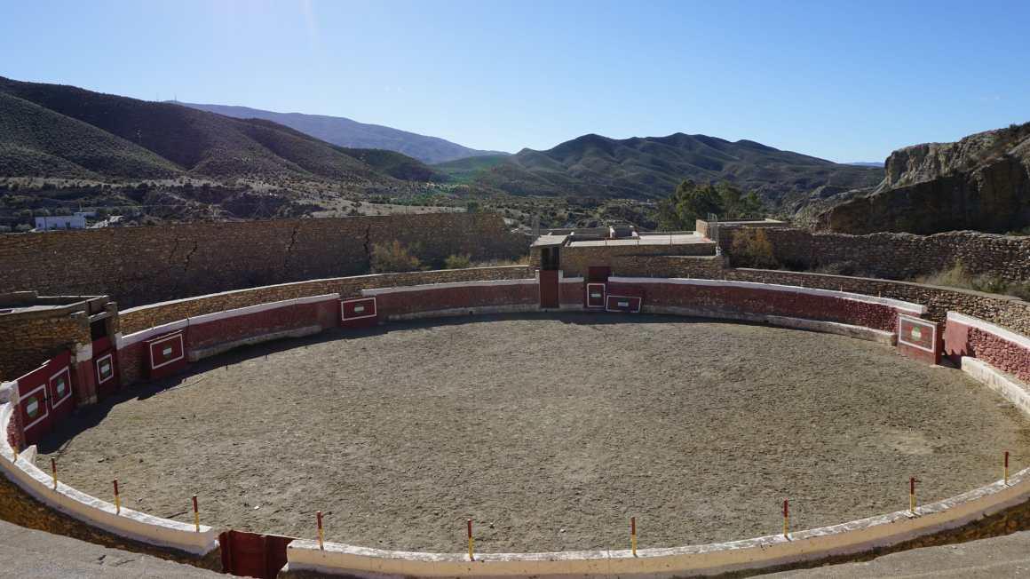 Tabernas desert bullfighting