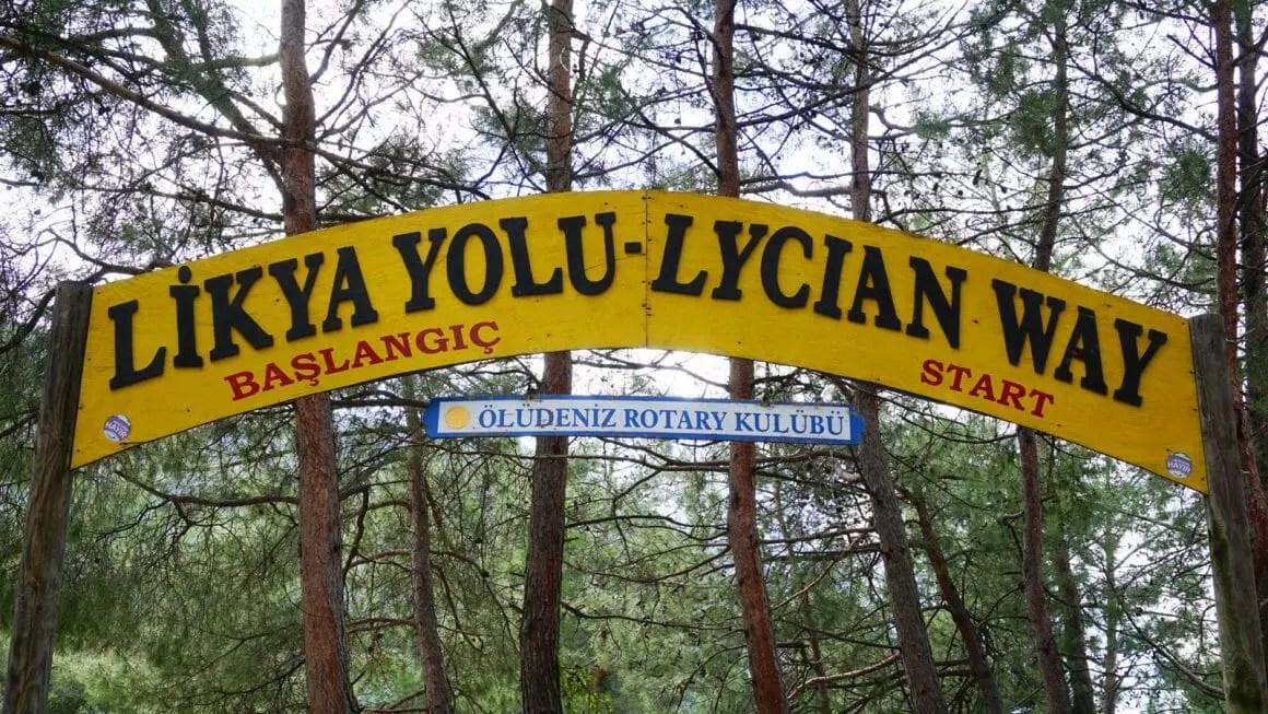 Lycian Way start