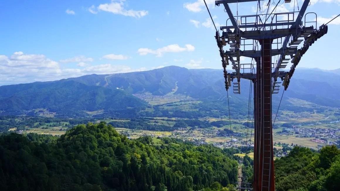 Shinetsu trail ski lift