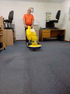 Carpet Cleaning At a Local business Loxton