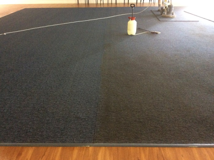 During Carpet Cleaning Loxton