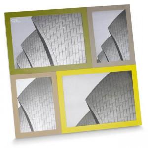 cadre-photo-design-vert-plusieurs-photos-cadeau
