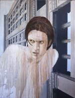 "Gaveston, 1995, Acrylic/canvas, 52 x 40"""