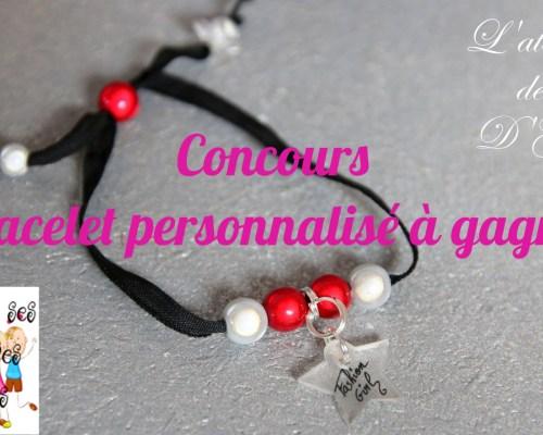 Un bracelet personnalisable avec l'Atelier de d'Gé {Test + Concours}