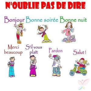 regles_de_politesse / La politesse chez les enfants