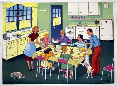 Prendre tous les repas avec ses enfants