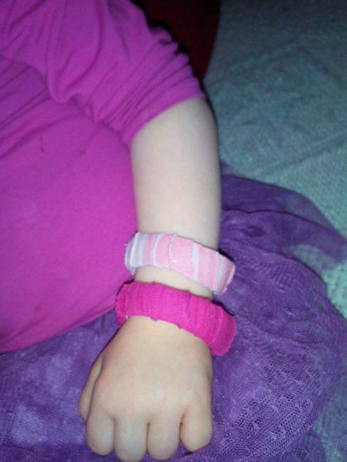 bracelet 100% récup