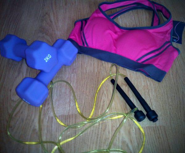 top body challenge / matériel