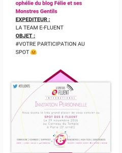 invitation parents connectés efluents 2016