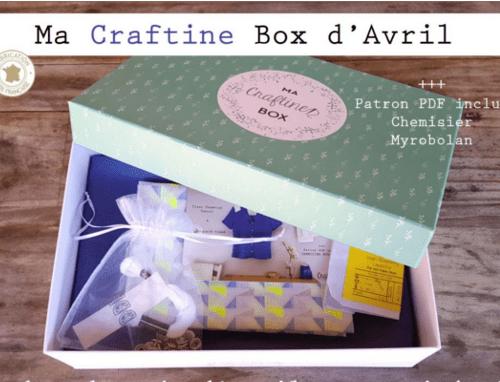 La Craftine Box d'avril : le chemisier Myrobolan {Couture}