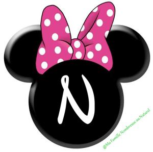 diy fanion / guirlande minnie mouse