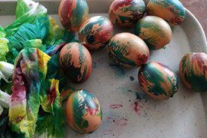 Chasse aux œufs de Pâques zéro déchet