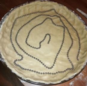 cuire tarte à blanc