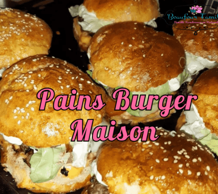 Pains burger maison {Recette}