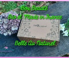 La box beauté 100% bio Belle Au Naturel